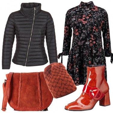 Outfit Gli stivaletti in vernice