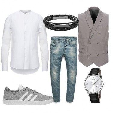 Vestiti Eleganti Con Jeans.Outfit Abiti Eleganti Uomo 13 Look Per Il 2020 Bantoa