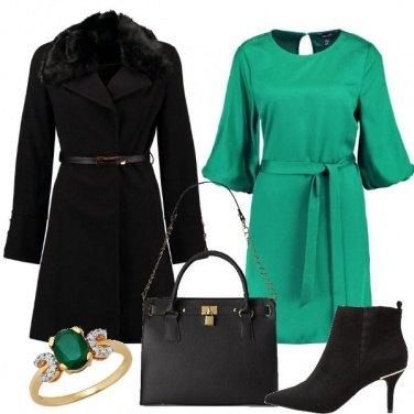 Outfit Tempo libero in verde
