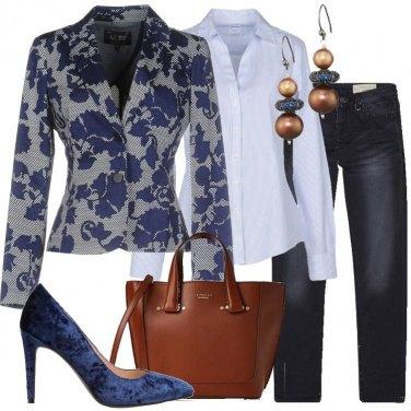 Outfit Blazer e jeans