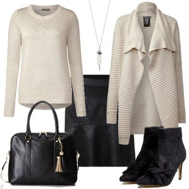 Outfit La mini in ecopelle