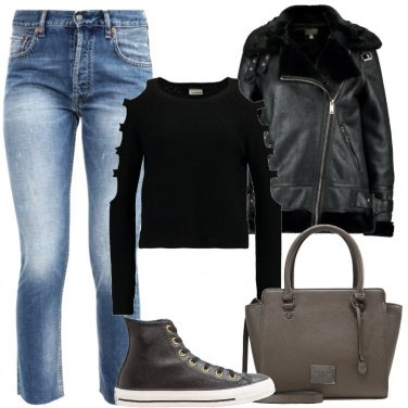 Outfit Giacca nera