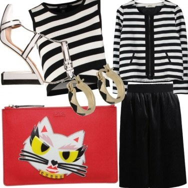 Outfit Stripes Trend