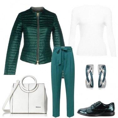 Outfit Una signora in verde