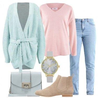 Outfit Delicatezza pastello