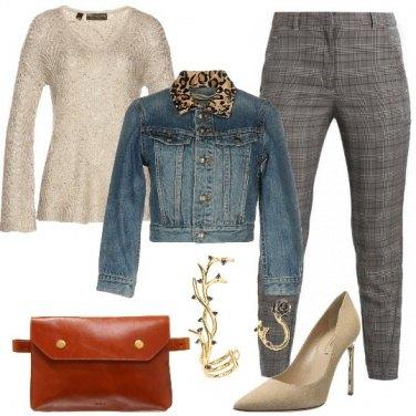 Outfit Glamour con il marsupio