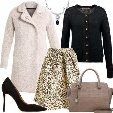 Outfit Gonna animalier