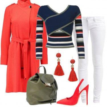 Outfit Righe e incroci