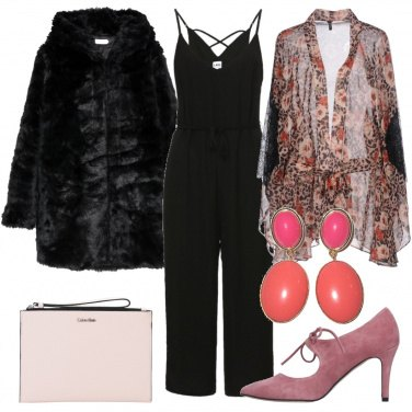 Outfit Jumpsuit e fiori