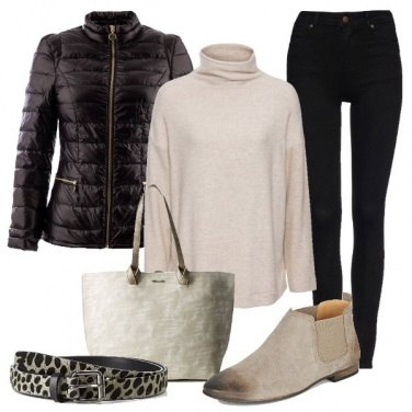 Outfit La cintura maculata
