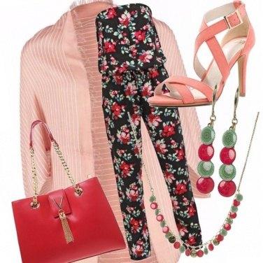 Outfit Fiori e jumpsuit