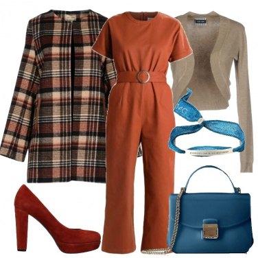Outfit Jumpsuit e minibag