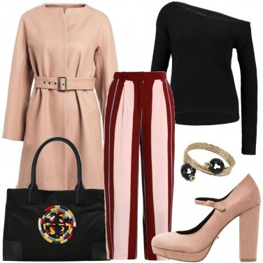 Outfit Maglione asimmetrico