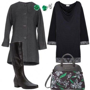 Outfit Fiori sulla borsa
