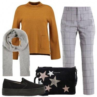 Outfit Maglione con tasche