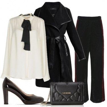 Outfit Fiocco a contrasto