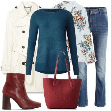 Outfit Camicia e maglioncino