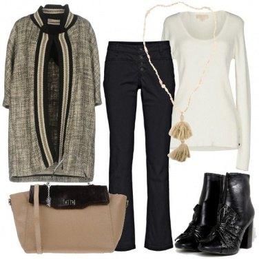 Outfit Collana con nappine