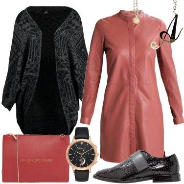 Outfit Una lettera per collana