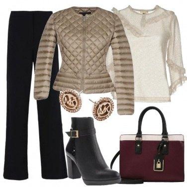 Outfit Il piumino trapuntato