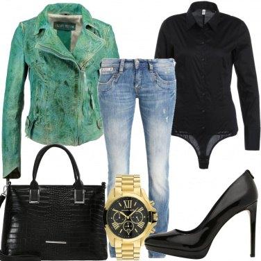 Outfit Verde speranza