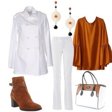 Outfit Bianco e fiori