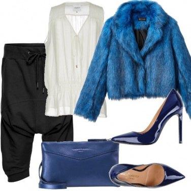 Outfit Blu elettrico per te