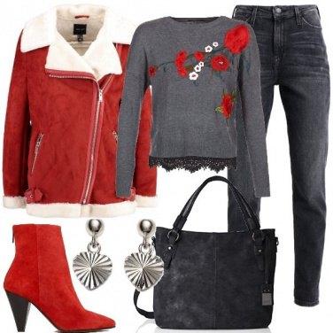 Outfit La giacca aviator