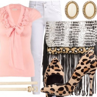 Outfit Frange e Leopardato. It\'s not too much!