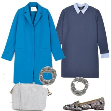 Outfit Abito in felpa