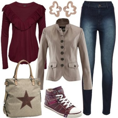 Outfit Una giacca particolare