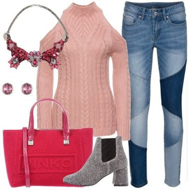 Outfit In jeans e maglioncino