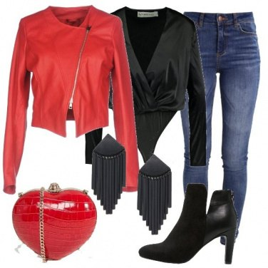 Outfit San Valentino settimanale