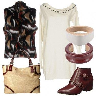 Outfit Coppia di bracciali di legno