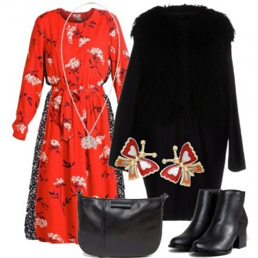 Outfit Bohemian anche col freddo