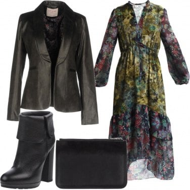 Outfit Abito floreale