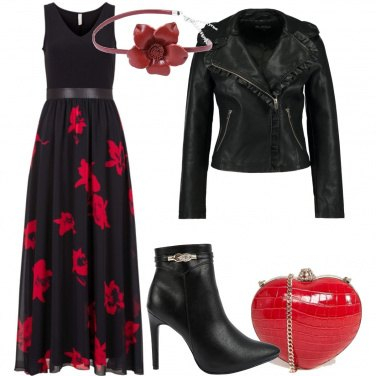 Outfit Rose e cuori