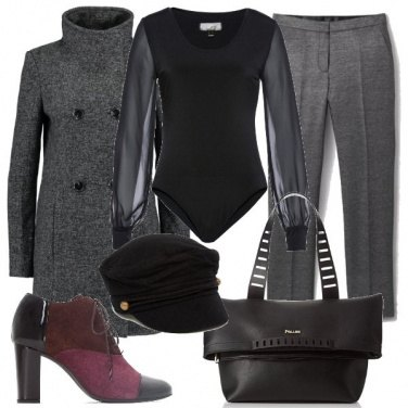 Outfit Rivisitando il Mannish
