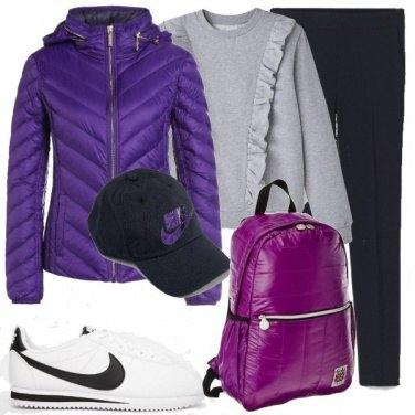 Outfit Alternativamente sportiva