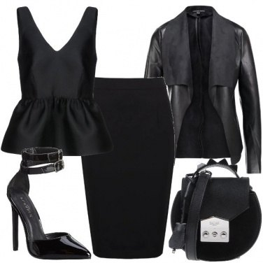 Outfit Tutta nera