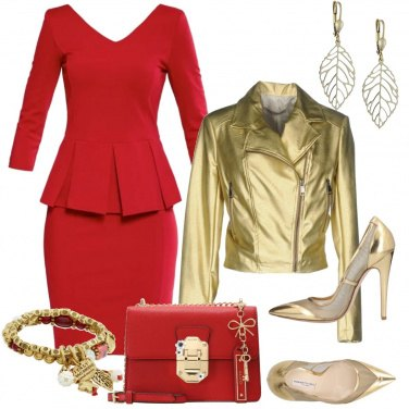 Outfit Rosso San Valentino