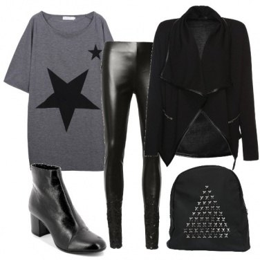Outfit Stelle rock