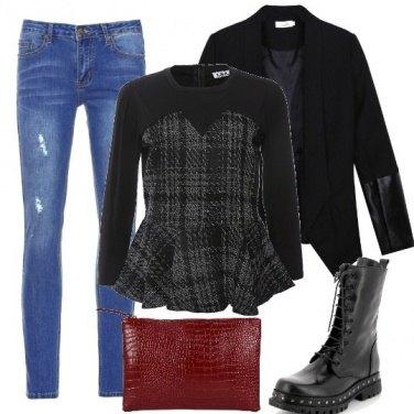 Outfit Tartan rock