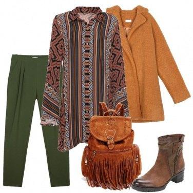 Outfit Colori della terra