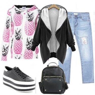 Outfit Ananas metropolitani