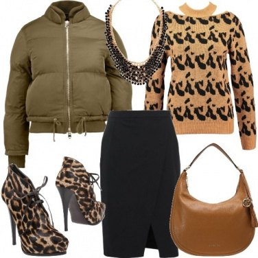 Outfit Molto animalier