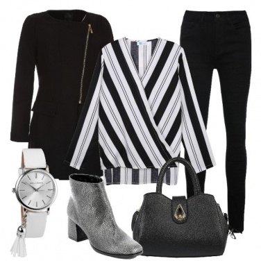 Outfit Tra bianco e nero