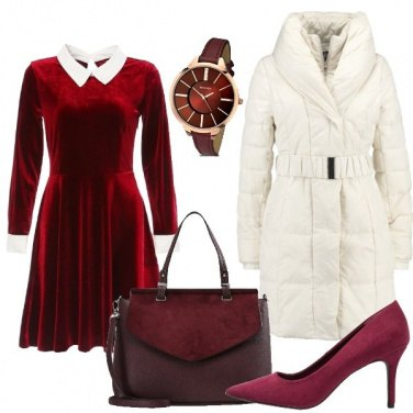 Outfit Colletti bianchi