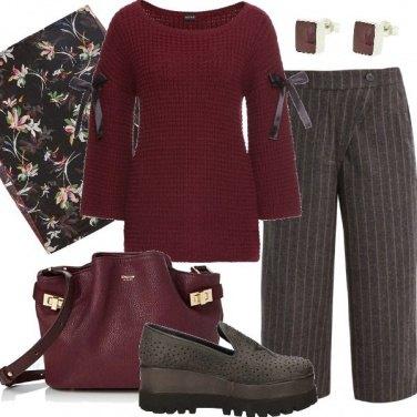 Outfit Mocassini alla moda