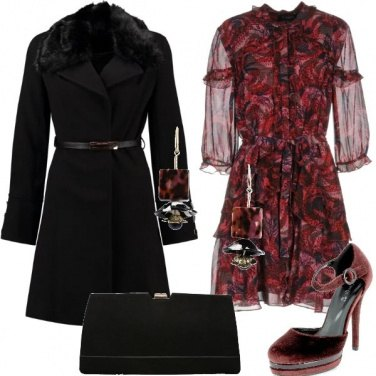 Outfit L\'abito in seta